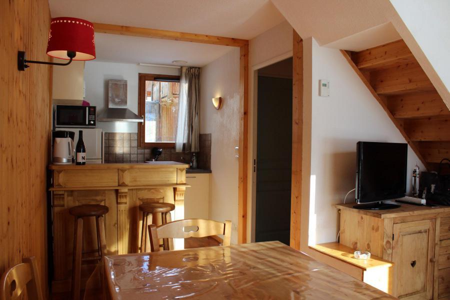 Alquiler al esquí Chalet adosado duplex 3 piezas para 8 personas (N2) - Le Hameau du Puy - Superdévoluy - Kitchenette