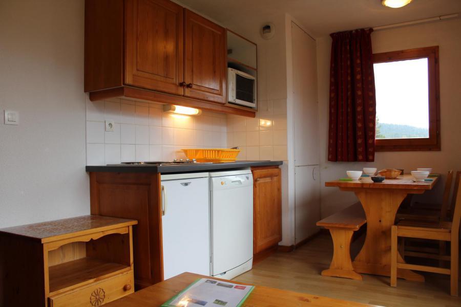 Аренда на лыжном курорте Апартаменты 3 комнат 6 чел. (AN45) - Les Chalets de SuperD Ancolie - Superdévoluy - Кухня