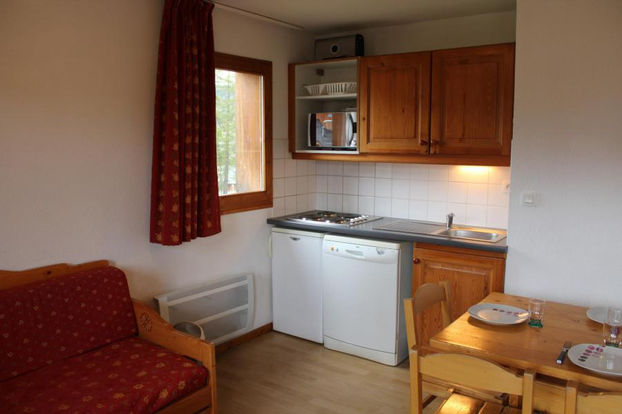 Аренда на лыжном курорте Апартаменты 4 комнат 10 чел. (AN31) - Les Chalets de SuperD Ancolie - Superdévoluy - Кухня