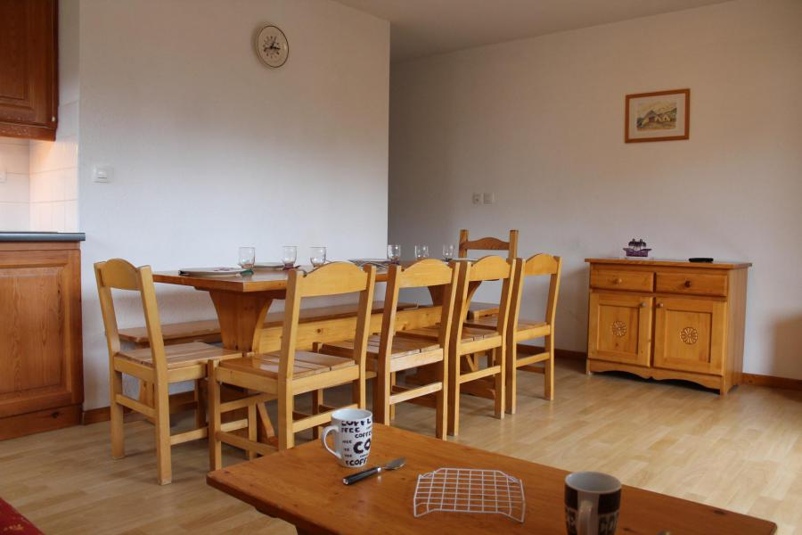 Аренда на лыжном курорте Апартаменты 4 комнат 10 чел. (AN31) - Les Chalets de SuperD Ancolie - Superdévoluy - Салон