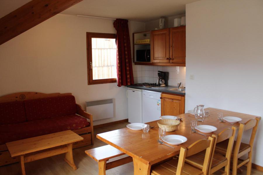 Аренда на лыжном курорте Апартаменты 4 комнат 10 чел. (AN61) - Les Chalets de SuperD Ancolie - Superdévoluy - Кухня