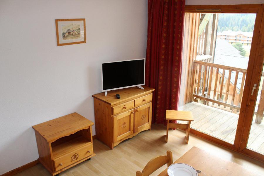 Аренда на лыжном курорте Апартаменты 4 комнат 10 чел. (AN61) - Les Chalets de SuperD Ancolie - Superdévoluy - Салон