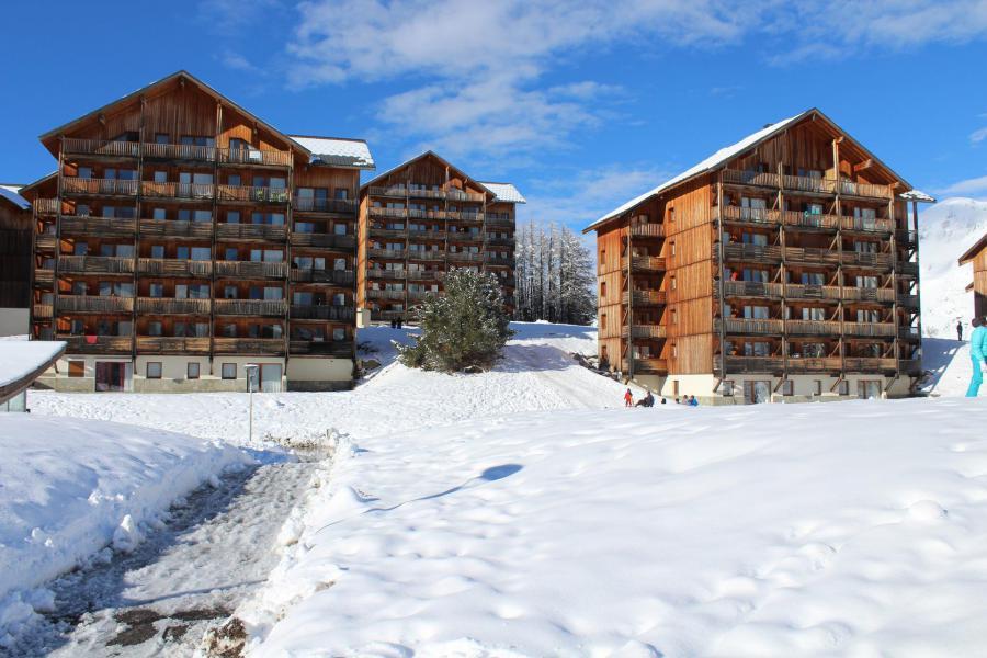 Vacaciones en montaña Les Chalets de SuperD Gentiane - Superdévoluy - Invierno