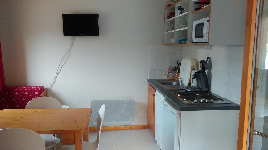 Location au ski Appartement 3 pièces 4 personnes (GE21) - Les Chalets de SuperD Gentiane - Superdévoluy - Tv