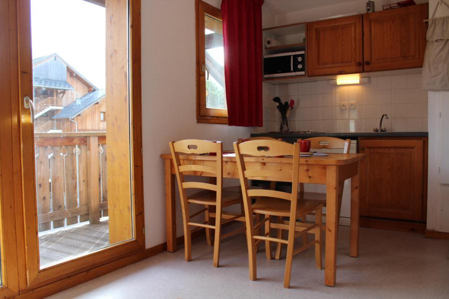 Location au ski Appartement 2 pièces coin montagne 6 personnes (HE32) - Les Chalets de SuperD Hélianthème - Superdévoluy