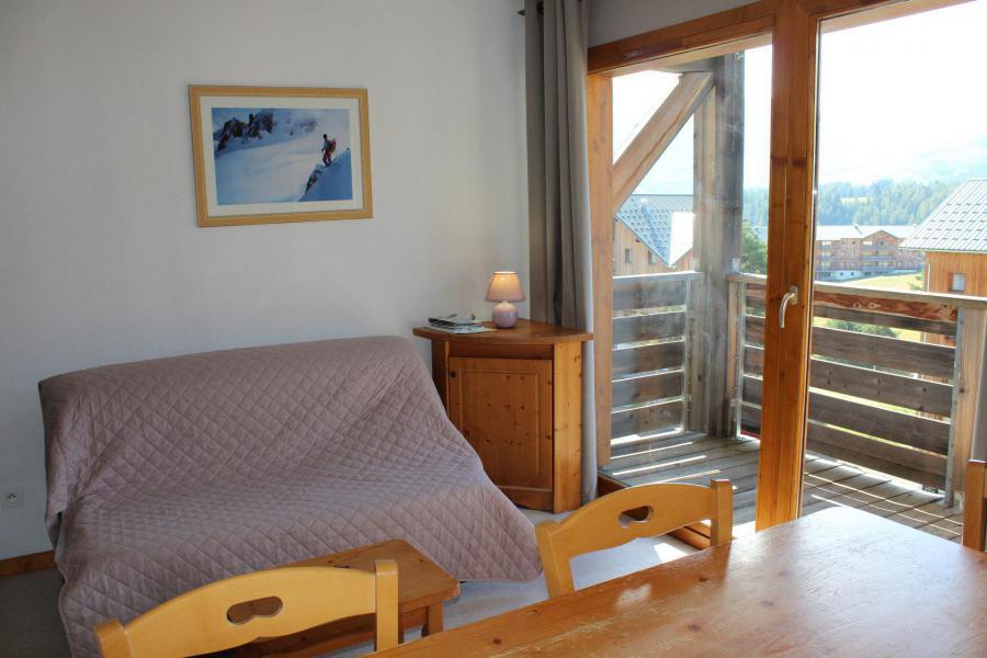 Location au ski Appartement 2 pièces coin montagne 6 personnes (HE54) - Les Chalets de SuperD Hélianthème - Superdévoluy - Banquette