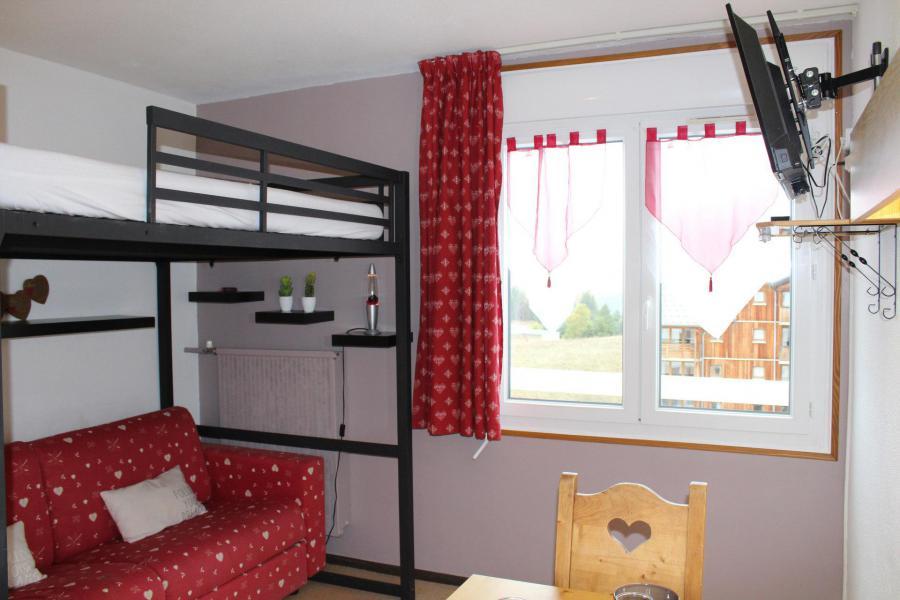 Аренда на лыжном курорте Квартира студия для 3 чел. (BA0602N) - Résidence le Bois d'Aurouze - Superdévoluy - Окно