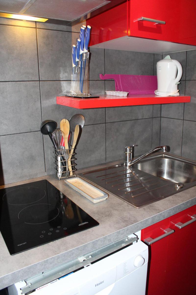 Аренда на лыжном курорте Квартира студия для 4 чел. (BA0533S) - Résidence le Bois d'Aurouze - Superdévoluy - Кухня