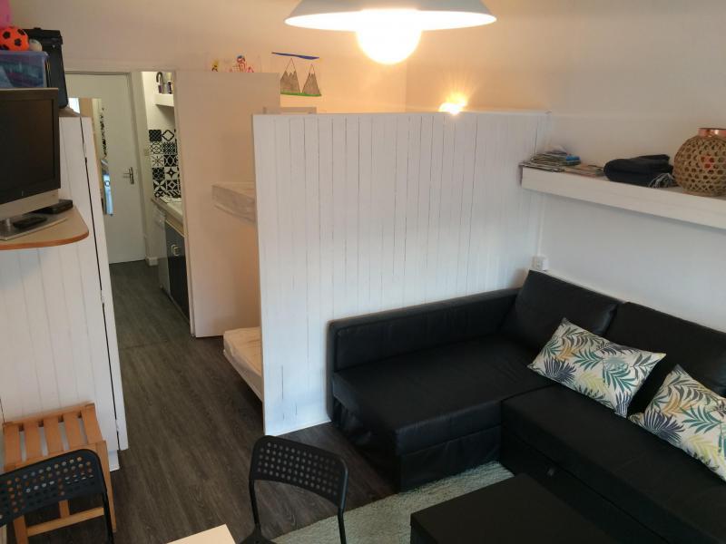 Location au ski Studio coin montagne 4 personnes (BA0106S) - Résidence le Bois d'Aurouze - Superdévoluy - Canapé