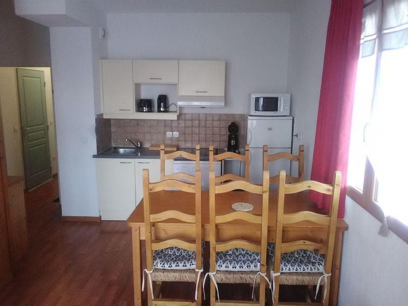 Аренда на лыжном курорте Апартаменты 3 комнат 6 чел. (003) - Résidence le Hameau du Puy - Superdévoluy - Кухня