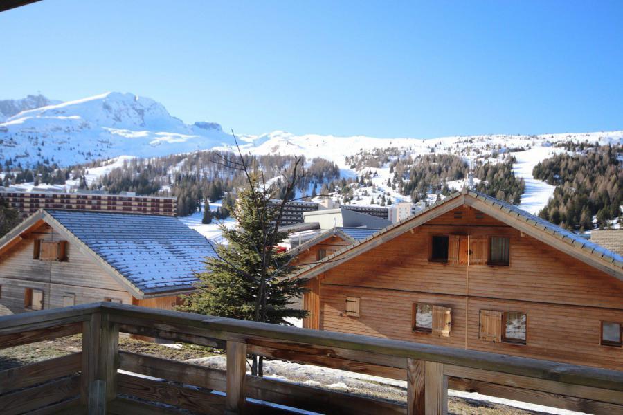 Аренда на лыжном курорте Résidence le Hameau du Puy - Superdévoluy - зимой под открытым небом