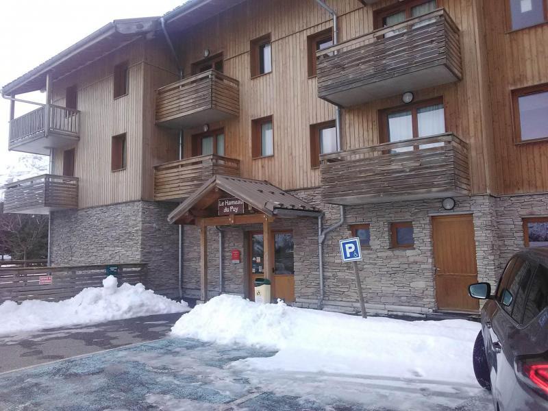 Vacances en montagne Appartement 3 pièces 6 personnes (003) - Résidence le Hameau du Puy - Superdévoluy - Extérieur hiver