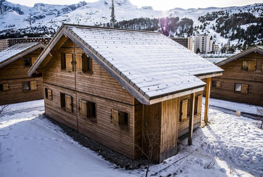 Holiday in mountain resort Résidence le Hameau du Puy - Superdévoluy - Winter outside