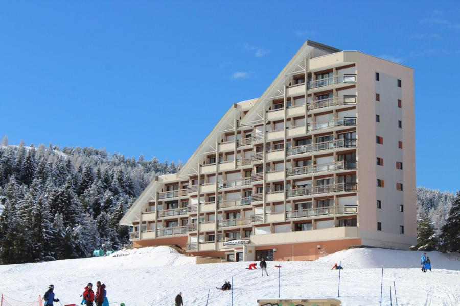 Wakacje w górach Résidence le Plein Sud - Superdévoluy - Zima na zewnątrz