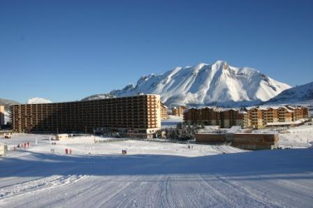 Vacaciones en montaña Apartamento 2 piezas para 5 personas (IS0618X) - Résidence les Issarts  - Superdévoluy - Invierno