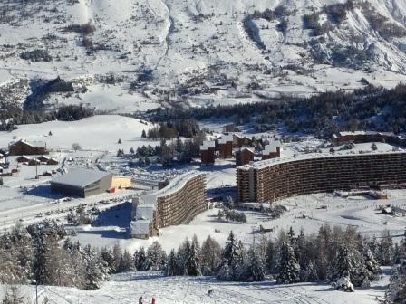 Vacaciones en montaña Apartamento 2 piezas para 5 personas (IS0529X) - Résidence les Issarts  - Superdévoluy - Invierno