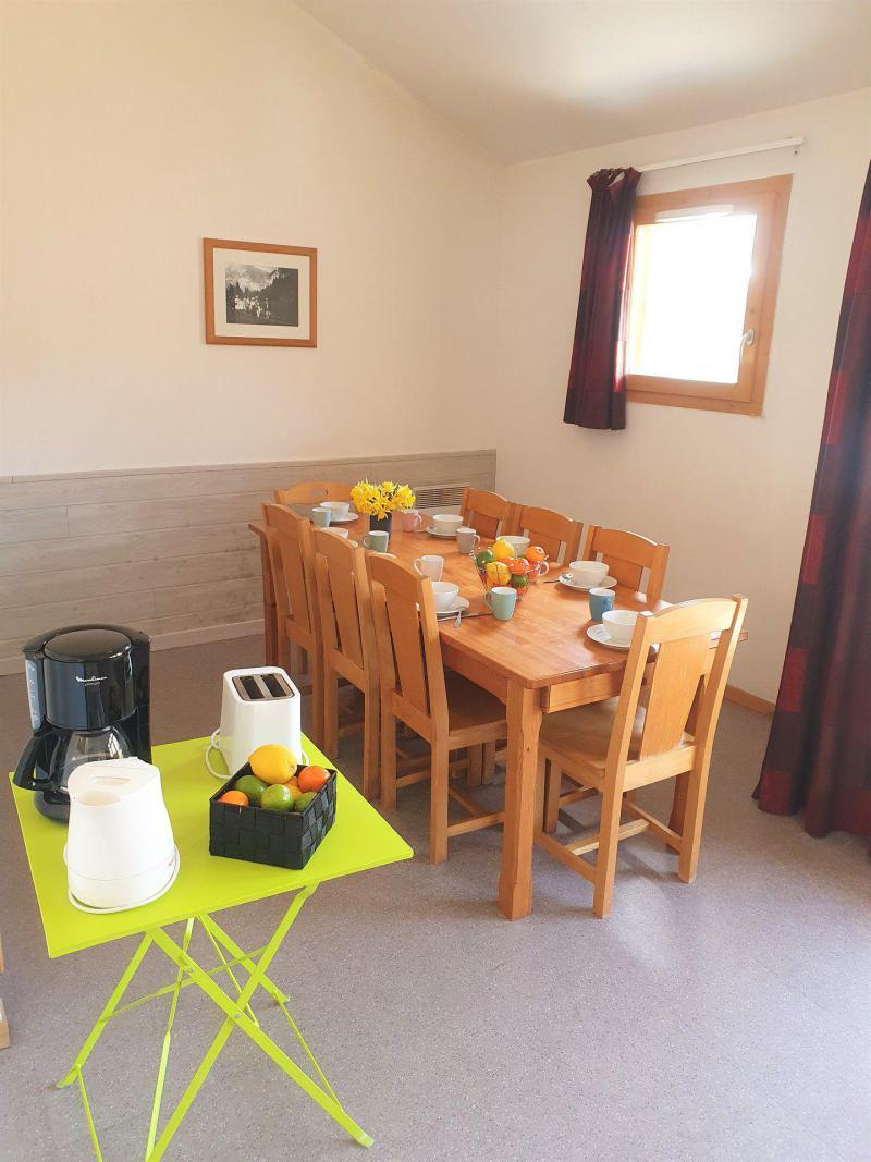 Location au ski Appartement 3 pièces cabine 8 personnes (TA60) - Résidence les Toits du Dévoluy - Superdévoluy - Plan