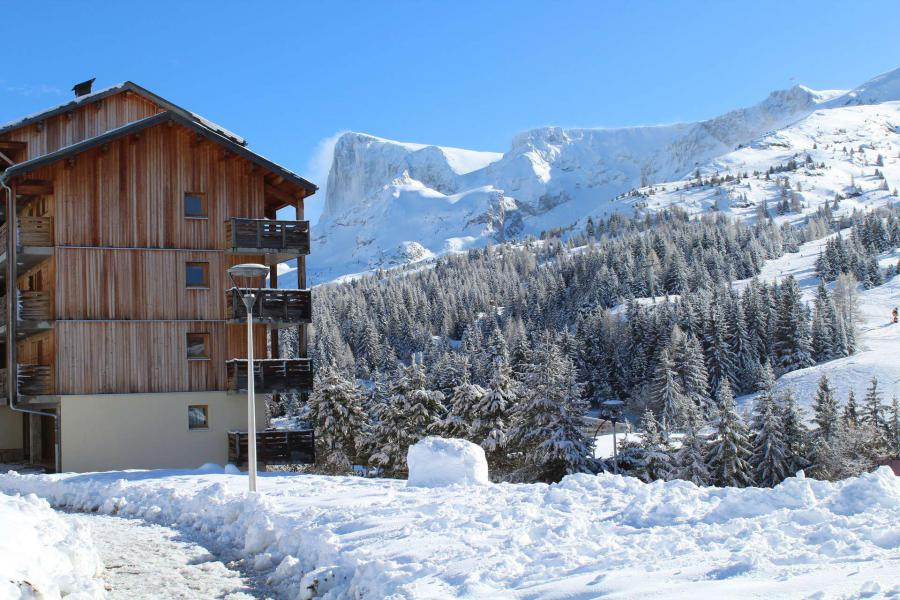 Location au ski Résidence les Toits du Dévoluy - Superdévoluy - Extérieur hiver