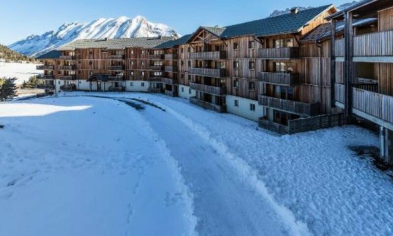 Vacances en montagne Appartement 2 pièces 6 personnes (Sélection 31m²-2) - Résidence les Toits du Dévoluy - Maeva Home - Superdévoluy - Extérieur hiver