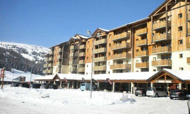 Vacances en montagne Résidence les Toits du Dévoluy - Maeva Home - Superdévoluy - Extérieur hiver