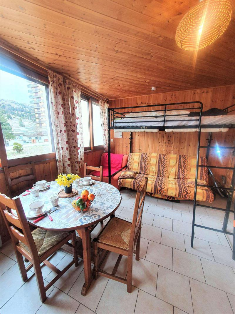 Location au ski Studio 2 personnes (TB1) - Résidence les Toits du Dévoluy - Superdévoluy - Canapé-lit