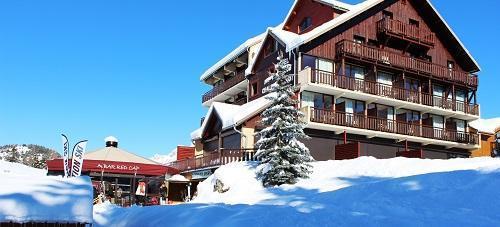 Location au ski Hotel Les Chardonnelles - Superdévoluy - Extérieur hiver