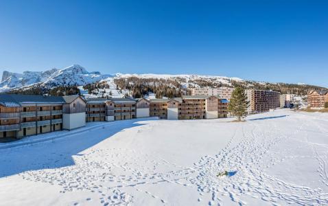 Location au ski La Résidence les Toits du Dévoluy - Superdévoluy - Extérieur hiver