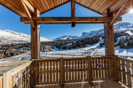 Rent in ski resort La Résidence les Toits du Dévoluy - Superdévoluy - Balcony
