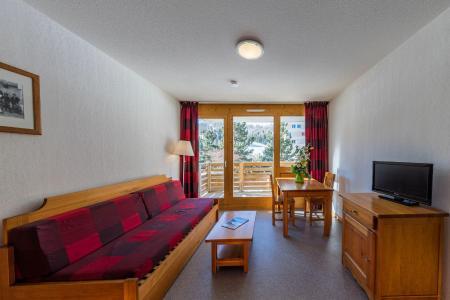 Rent in ski resort La Résidence les Toits du Dévoluy - Superdévoluy - Living area