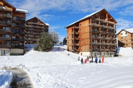 Rent in ski resort Les Chalets de SuperD Ancolie - Superdévoluy - Winter outside
