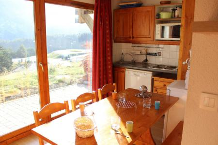 Rent in ski resort 2 room apartment 4 people (BL03) - Les Chalets de SuperD Bleuet - Superdévoluy - Dining area