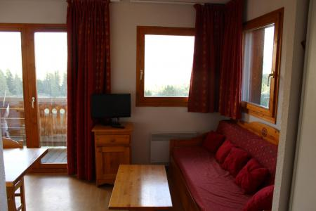 Аренда на лыжном курорте Апартаменты 2 комнат 4 чел. (BL34) - Les Chalets de SuperD Bleuet - Superdévoluy - Салон