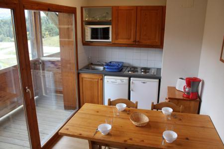 Аренда на лыжном курорте Апартаменты 2 комнат 6 чел. (BL14) - Les Chalets de SuperD Bleuet - Superdévoluy - Кухня