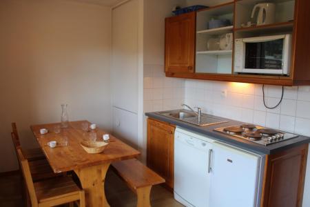 Аренда на лыжном курорте Апартаменты 2 комнат 6 чел. (BL22) - Les Chalets de SuperD Bleuet - Superdévoluy - Кухня