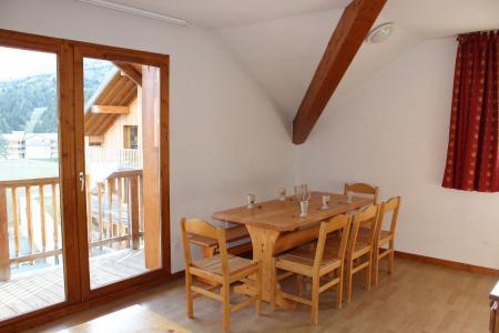 Аренда на лыжном курорте Апартаменты 4 комнат 8 чел. (BL51) - Les Chalets de SuperD Bleuet - Superdévoluy - Салон