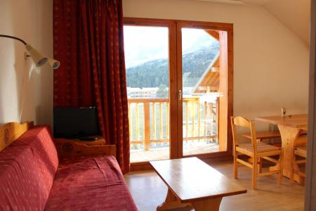 Rent in ski resort 4 room apartment 8 people (BL51) - Les Chalets de SuperD Bleuet - Superdévoluy