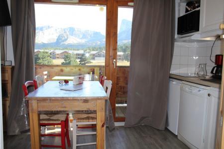 Rent in ski resort 3 room apartment sleeping corner 4 people (CB13) - Les Chalets de SuperD Chardon Bleu - Superdévoluy