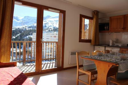 Rent in ski resort 1 room apartment sleeping corner 6 people (EG61) - Les Chalets de SuperD Eglantier - Superdévoluy - Living room