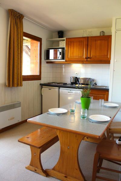 Rent in ski resort 2 room apartment sleeping corner 6 people (EG33) - Les Chalets de SuperD Eglantier - Superdévoluy - Bath-tub