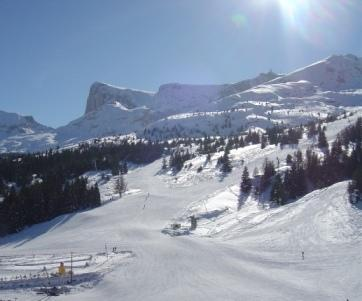 Rent in ski resort 4 room apartment 8 people (HE15) - Les Chalets de SuperD Hélianthème - Superdévoluy - Winter outside