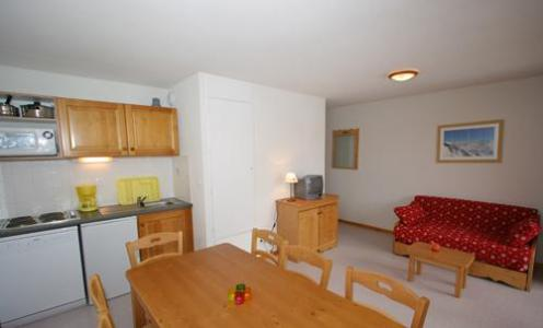 Rent in ski resort 3 room apartment cabin 10 people (BCW) - Les Chalets Superd - Superdévoluy - Kitchenette