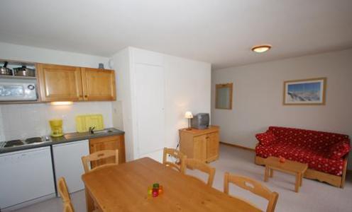 Rent in ski resort 3 room apartment cabin 10 people (BCW) - Les Chalets Superd - Superdévoluy - Kitchenette