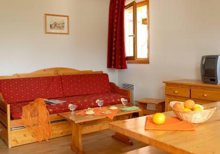 Rent in ski resort Les Chalets Superd - Superdévoluy - Living area