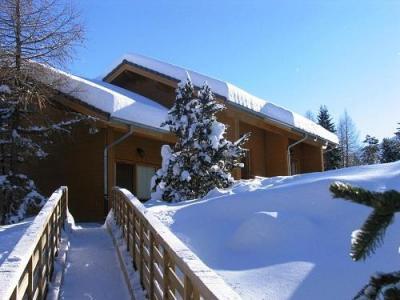 Location au ski Residence Chalets Margot - Superdévoluy - Extérieur hiver