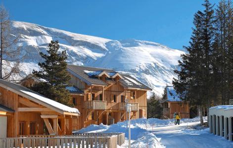 Location au ski Résidence l'Orée des Pistes - Superdévoluy - Extérieur hiver