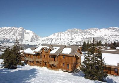 Location au ski Residence L'oree Des Pistes - Superdévoluy - Extérieur hiver