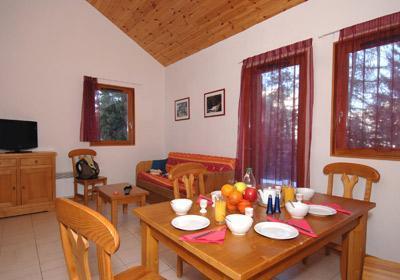 Location au ski Residence L'oree Des Pistes - Superdévoluy - Coin repas