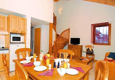 Location au ski Residence L'oree Des Pistes - Superdévoluy - Cuisine