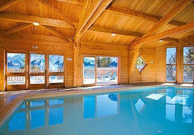 Location au ski Residence L'oree Des Pistes - Superdévoluy - Piscine