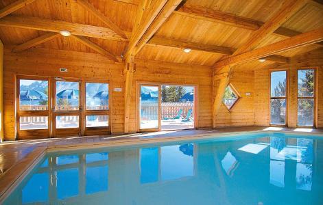 Location au ski Résidence l'Orée des Pistes - Superdévoluy - Piscine